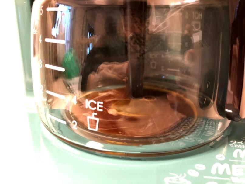 toffyコーヒー抽出中